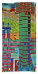Hundertwasser Das Ende Griechenlands In 3d By J.j.b. Beach Sheet