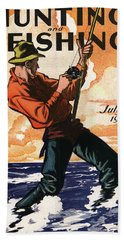 Hunting And Fishing Beach Sheet