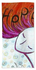 I Hope Beach Towel by Gioia Albano