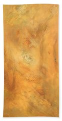 Beach Towel featuring the painting Intuition by Brooks Garten Hauschild