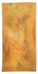 Beach Sheet featuring the painting Intuition by Brooks Garten Hauschild