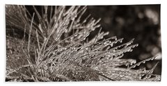 Ice On Pine Beach Towel