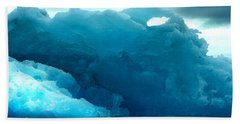 Beach Sheet featuring the photograph Icebergs by Amanda Stadther