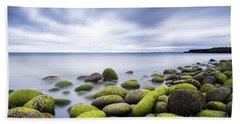 Iceland Tranquility 3 Beach Sheet by Gunnar Orn Arnason