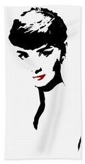 Icon Of Beauty Beach Towel