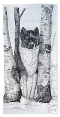 Ihasa In The Woods Beach Towel