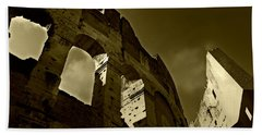 Beach Sheet featuring the photograph Il Colosseo by Micki Findlay