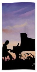 Il Pianista Beach Towel