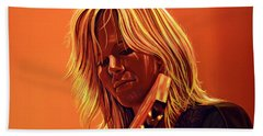Ilse Delange Painting Beach Towel
