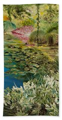 Image At Giverney Beach Towel