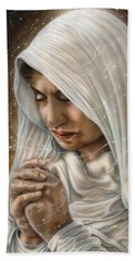 Immaculate Conception - Mothers Joy Beach Towel