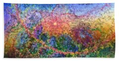 Impressionist Dreams 1 Beach Sheet