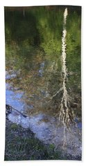 Impressionist Reflections Beach Towel by Patrice Zinck