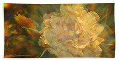 Beach Towel featuring the photograph Impressionistic Rose by Dora Sofia Caputo Photographic Art and Design