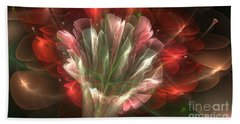 Beach Sheet featuring the digital art In Bloom by Svetlana Nikolova