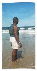 In Deep Thought Beach Sheet