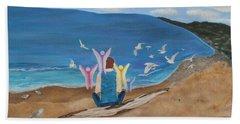 In Meditation Beach Sheet by Cheryl Bailey