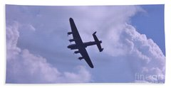 In To The Clouds Beach Towel by John Williams