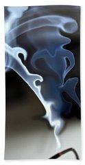 Incense Smoke Dance - Smoke - Dance Beach Sheet