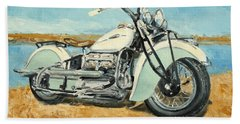 Indian Four 1941 Beach Towel