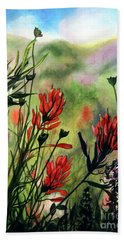 Indian Paint Brush Beach Sheet