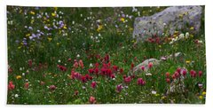 Indian Paintbrush II Beach Towel