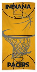 Indiana Pacers Court Beach Towel