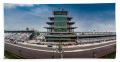 Indianapolis Motor Speedway Beach Towel