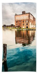 Beach Towel featuring the photograph Industrial - Old Buildings - Build To Suit by Gary Heller
