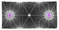 Infinity Grid Six Beach Towel