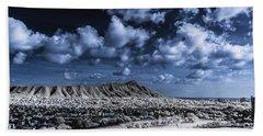 Infrared Diamond Head Beach Towel