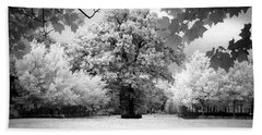 Beach Towel featuring the photograph Infrared Majesty by Andrea Platt