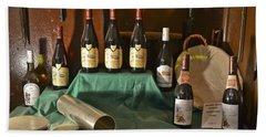 Inside The Wine Cellar Beach Sheet