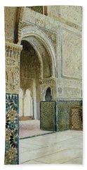 Interior Of The Alhambra  Beach Towel