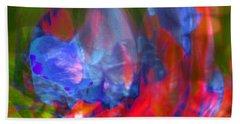 Beach Towel featuring the digital art Interior by Richard Thomas