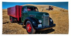 International Farm Truck Beach Sheet