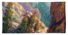 Into The Canyon Beach Towel