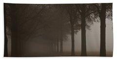 Into The Fog Beach Towel