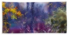 Into The Mist - A Dream State Beach Towel