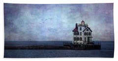 Into The Night Beach Towel by Dale Kincaid