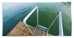 Into The Water Beach Towel by Chevy Fleet