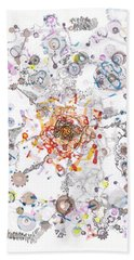 Intracellular Diversion Beach Towel
