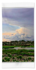 Intracoastal Colours Beach Towel by Alice Gipson