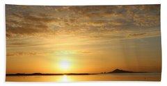 Irelands Eye At Dawn Beach Towel