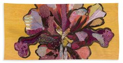 Iris I Series II Beach Towel by Shadia Derbyshire