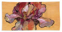 Iris II - Series II Beach Towel by Shadia Derbyshire