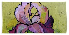Iris IIi Beach Towel by Shadia Derbyshire
