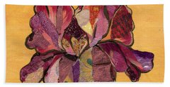 Iris Iv - Series II Beach Towel by Shadia Derbyshire