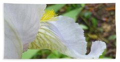 Iris Macro 2 Beach Towel