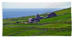 Irish Farm 1 Beach Towel by Patricia Griffin Brett